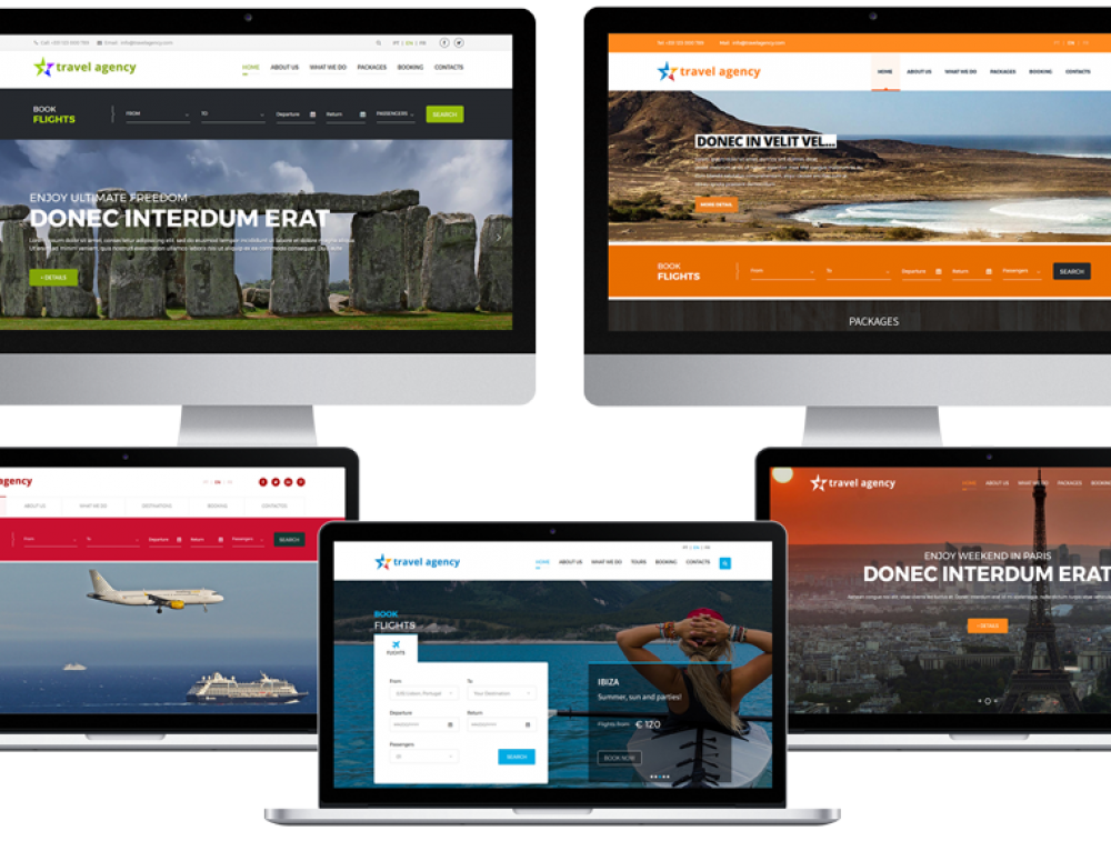 TTS WeBook Suite: Your travel agency website & flight booking engine with a payment gateway