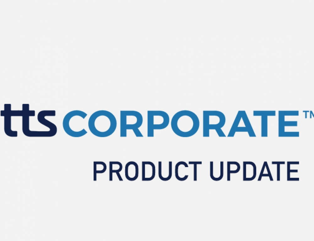 TTS Corporate – What's New